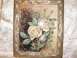 Rose - silvia diana - Ceramica con decorazione sopra smalto