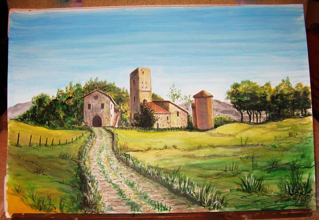 Casale in Maremma - silvia diana - Acquerello - 300 €