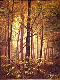 Autunno nel bosco - silvia diana - Acrilico - €