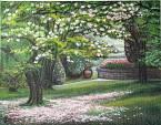 Magnolia in fiore - silvia diana - Acrilico - 200€ - Venduto!