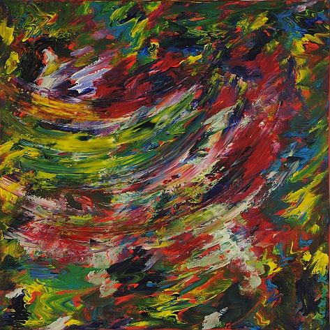 L'arcobaleno dell'amore - Marisa Milan - Acrilico
