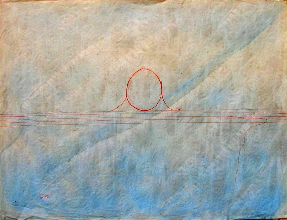 'a' sul pentagramma - daniele Rallo  - mista - 100 €