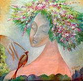 """""""Primavera"""" - Viktoriya Bubnova - Olio"""