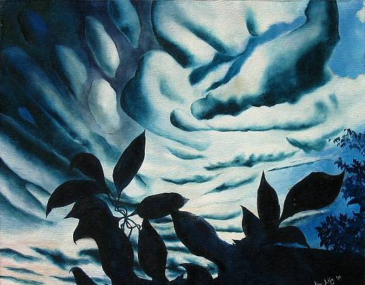 nuvole barocche - daniele rallo - Olio - 100 €