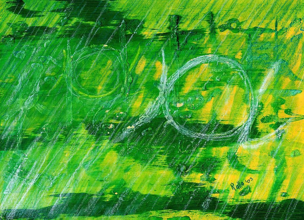 'a' in verde - daniele Rallo  - mista - 150 €