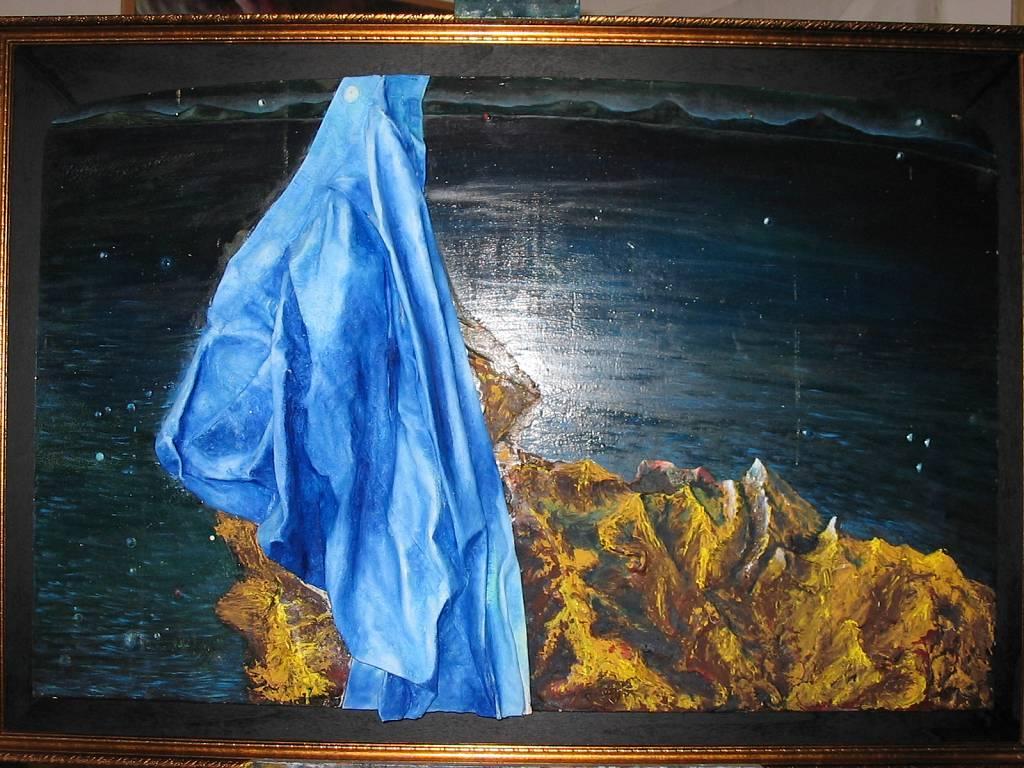 le braghe dell'artista - daniele Rallo  - tecnica mista - 750 €