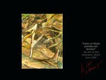Come un flatuto piantato nel terreno   - Artemio Ceresa - Olio - 400€