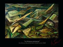 La fortezza sommersa - Artemio Ceresa - Olio - 1400€