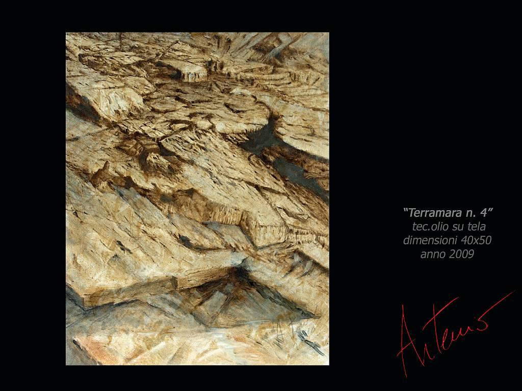Terramara 4 - Artemio Ceresa - Olio - 750 €