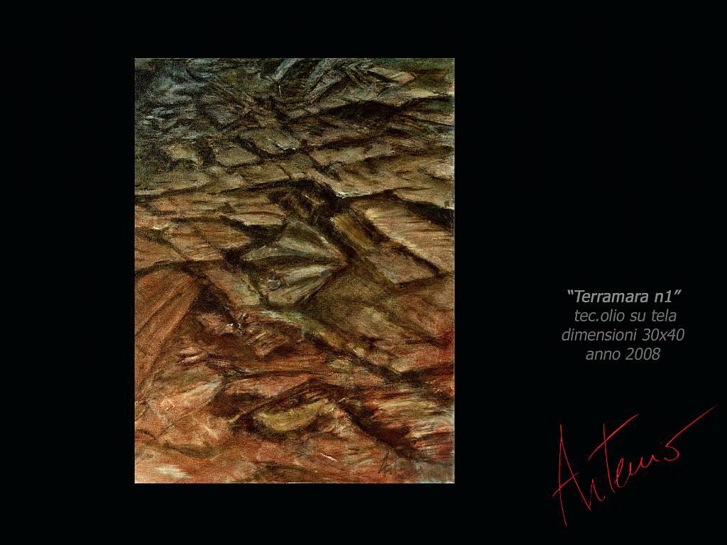 Terramara 1 - Artemio Ceresa - Olio - 600 €