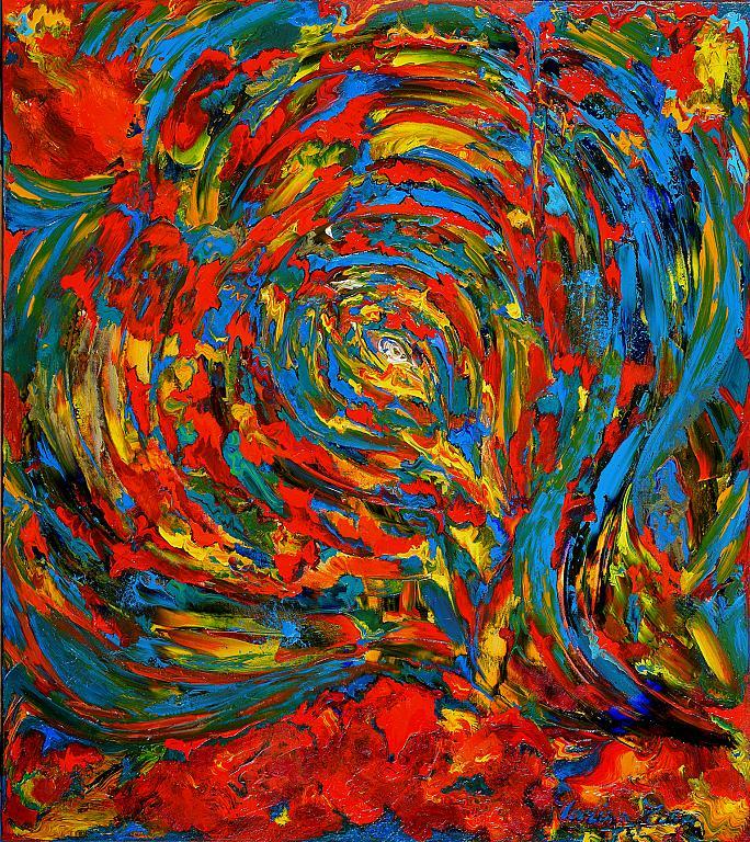 L'occhio di Dio - Marisa Milan - Acrilico