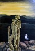 MA DOVE SIAMO - Italo Ferrara - Olio