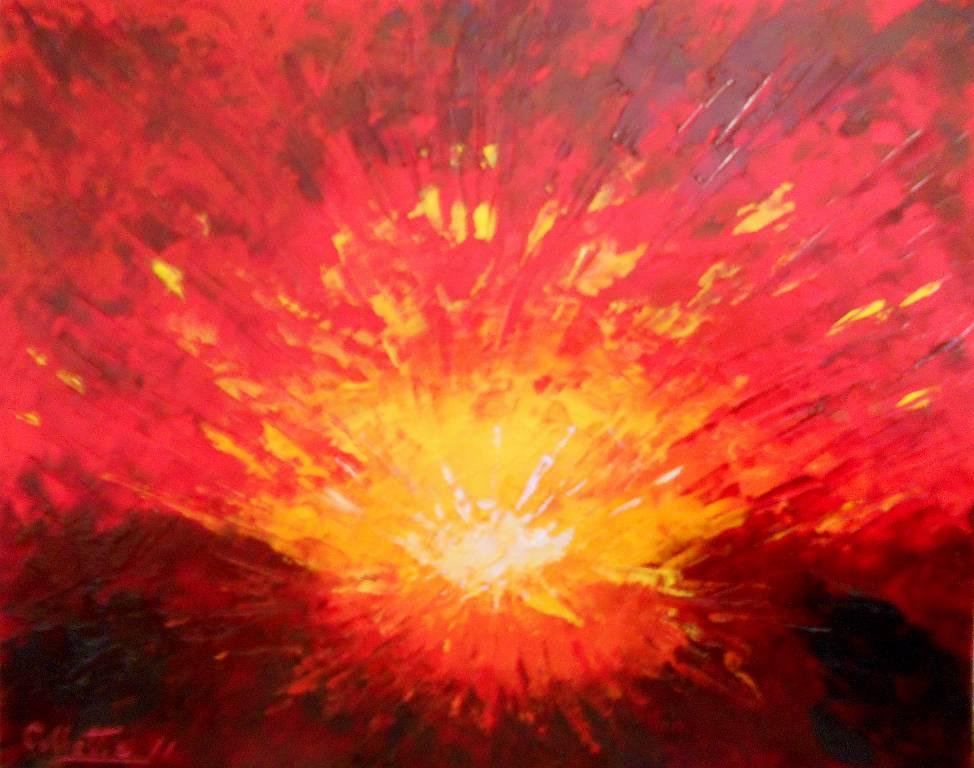 ESPLOSIONE - vendita quadro pittura - ArtlyNow