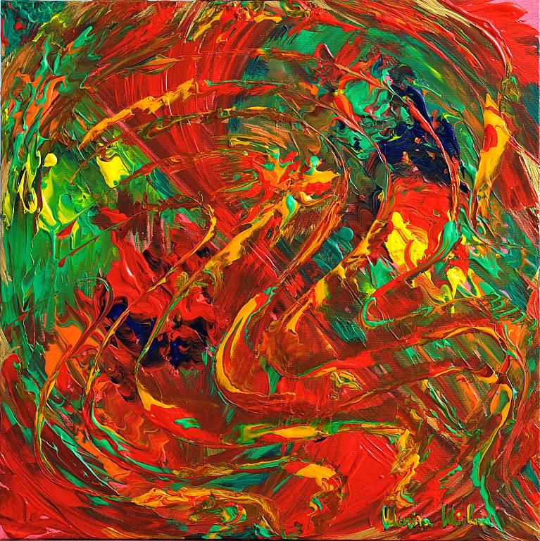 Gioia nel colore - Marisa Milan - Acrilico