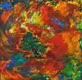 Il bonsai - Marisa Milan - Acrilico