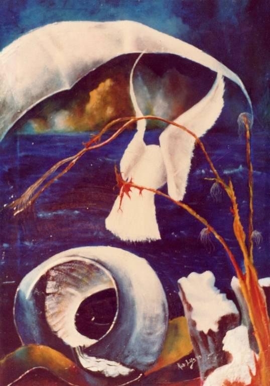 la colomba - daniele rallo - Olio - 350 €