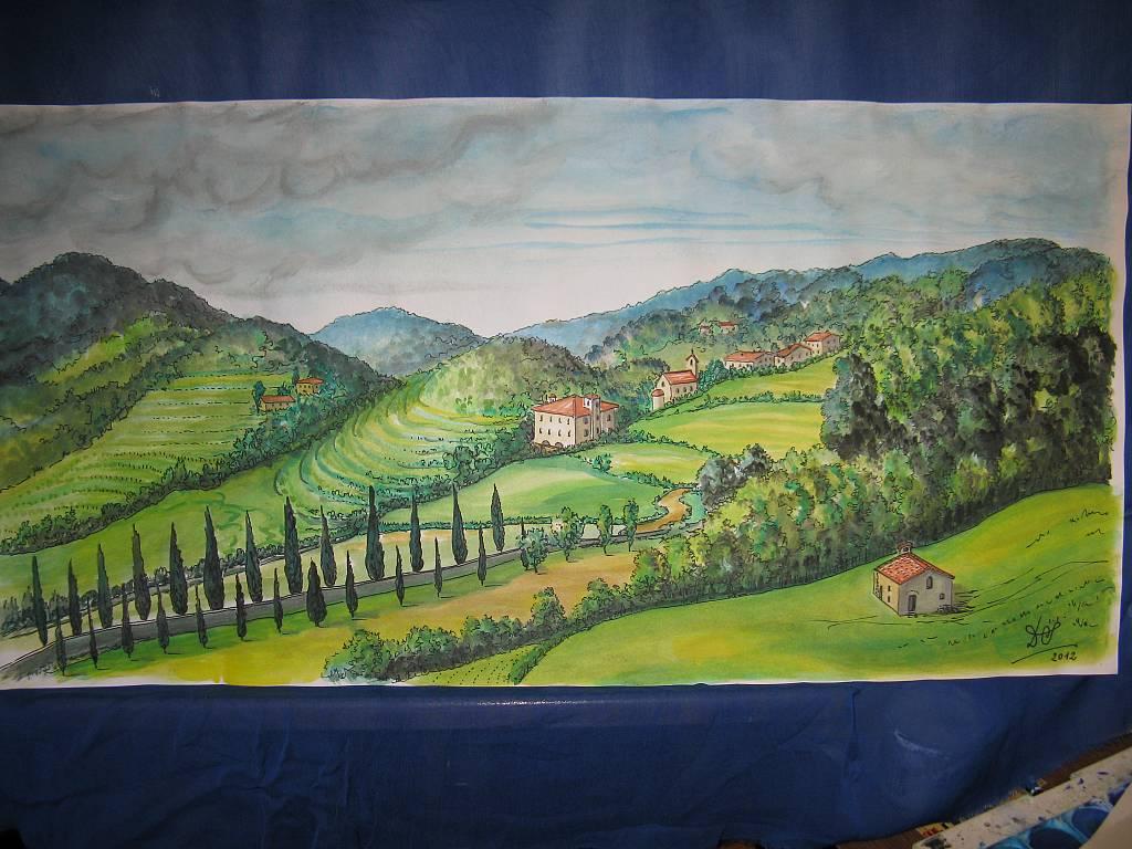 Garfagnana - silvia diana - Acquerello - 200 €