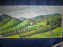 Garfagnana - silvia diana - Acquerello - 200€