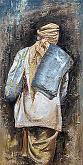 il cacciatore d'aquiloni - rosalba busani - Olio - 600,00€