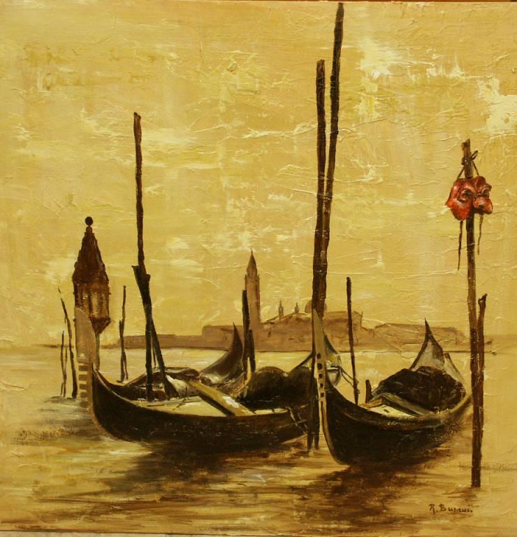 venezia - rosalba busani - Olio - 400 €