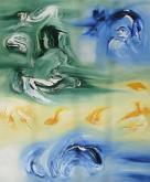 Fugace nuvola - Davide De Palma - Olio - €
