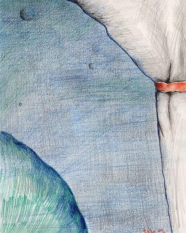 messa a fuoco presbitica dell'orizzonte - daniele rallo - Pastelli - 50 €