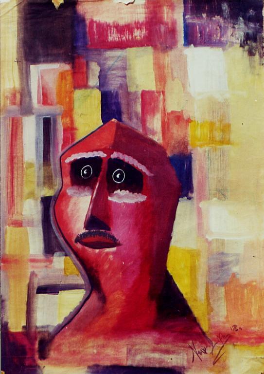 testa rossa - daniele rallo - mista - 150 €