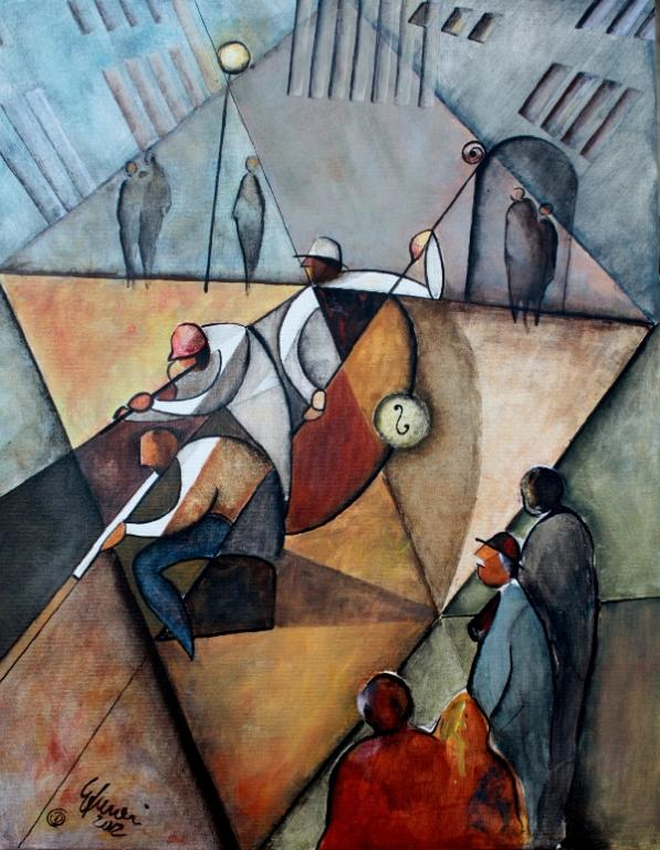Jazz a Montmartre - Guido Ferrari - Acrilico - 460 €