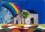 Sul tetto del Mondo - Girolamo Peralta - Olio e acrilico - 350 €