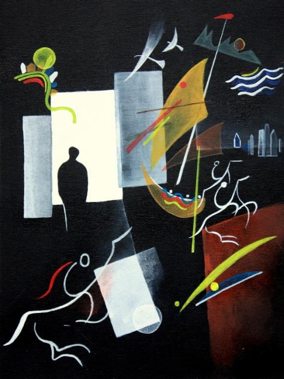 Window - Guido Ferrari - Acrilico - 420 €