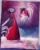 l'occhio della verità - daniele rallo - Olio - €