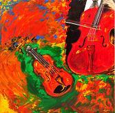 Armonie musicali - Marisa Milan - Acrilico