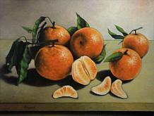 Mandarini - Salvatore Ruggeri - Olio
