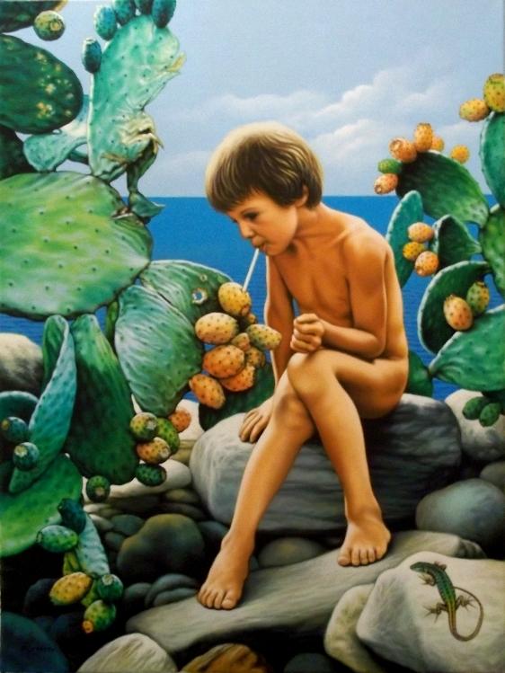 Dolce succo (metafora della vita) - Salvatore Ruggeri - Olio