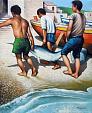 Pescespada pescato - Salvatore Ruggeri - Olio