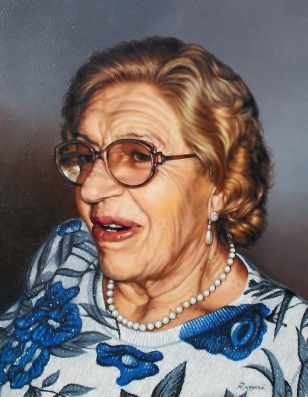 Mia madre - Salvatore Ruggeri - Olio