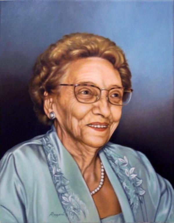 Ritratto della signora Valeria - Salvatore Ruggeri - Olio