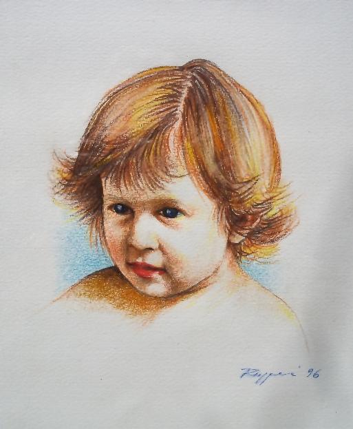 La piccola Carolina - Salvatore Ruggeri - Pastelli