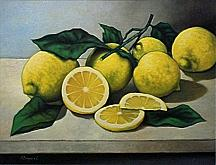 Limoni - Salvatore Ruggeri - Olio