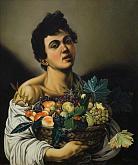 Copia d'autore da Caravaggio: Fruttarolo - Salvatore Ruggeri - Olio