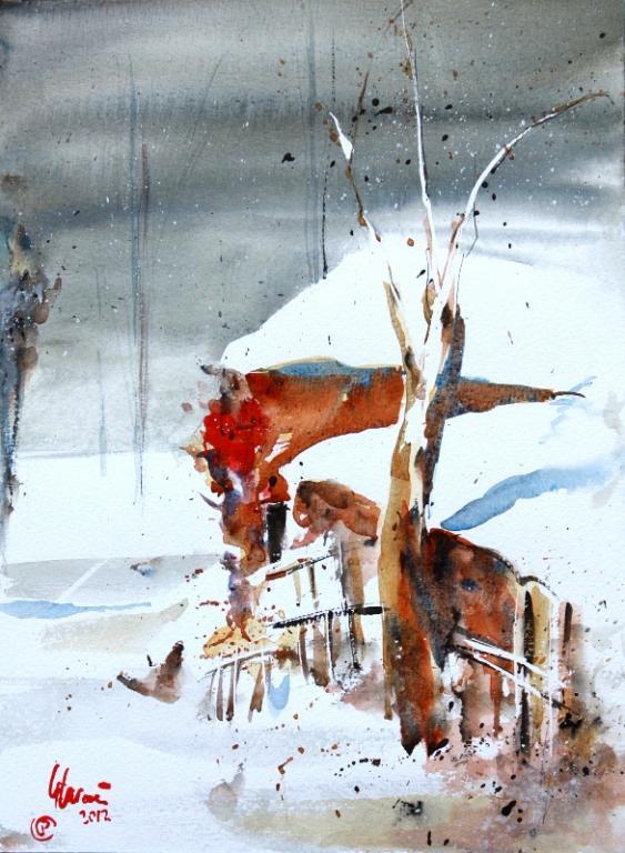 Inverno 2012 - Guido Ferrari - Acquerello - 390 €