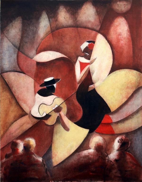Flamenco - Guido Ferrari - Acrilico - 460 €