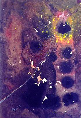 colibrì al laccio di un pensiero - daniele rallo - mista