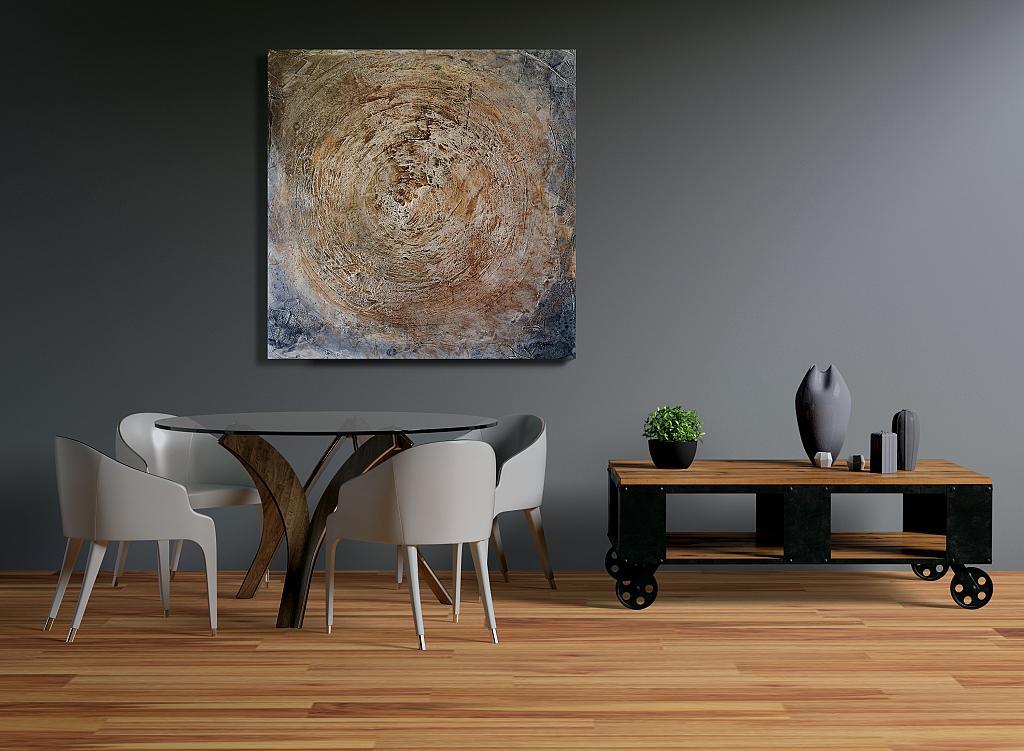 Coscienza - Massimo Di Stefano - Tecnica mista su tela - 800 €