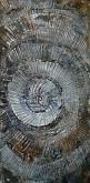 Cosmic vortix - Massimo Di Stefano - Tecnica mista su legno