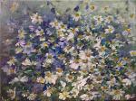fiori di campo  - Olga Maksimova - Olio
