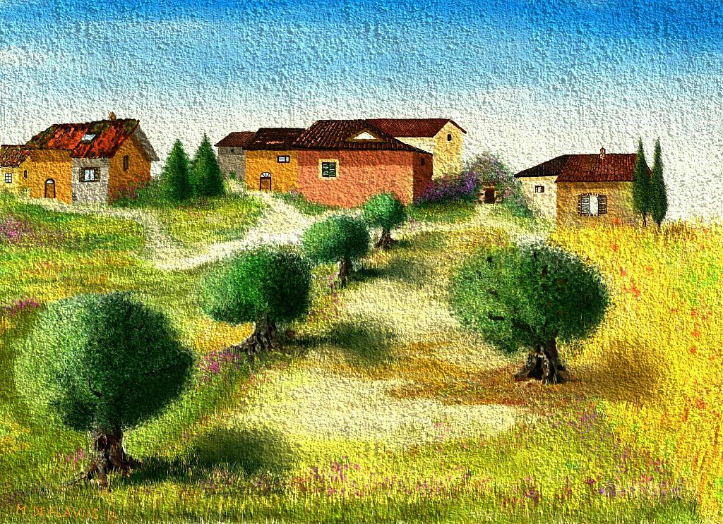via della vecchia stazione - Michele De Flaviis - Digital Art