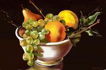 frutta sulla porcellana - Michele De Flaviis - Digital Art