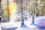 Una bella nevicata - Michele De Flaviis - Digital Art