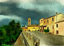 scorcio di Maiolati-Spontini - Michele De Flaviis - Digital Art